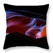 Monument Light Throw Pillow by Chad Dutson