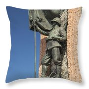 Monument Of The Republic Throw Pillow