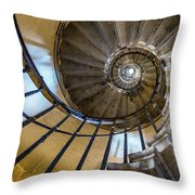 Monument Stairs Throw Pillow