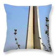 Monument To The People's Heroes - Shanghai China Throw Pillow