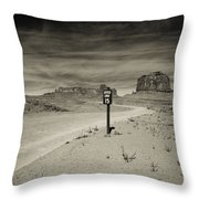 Monument Valley 6 Throw Pillow
