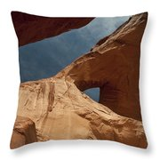 Monument Valley Arch 7369 Throw Pillow