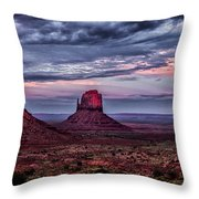 Monument Valley Mittens Throw Pillow
