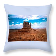 Monument Valley Monolith Throw Pillow