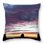 Monument Valley Morning #1 Throw Pillow