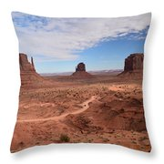 Monument Valley-one Throw Pillow