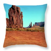 Monument3 Throw Pillow