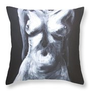 Monumental Body Throw Pillow