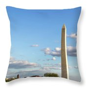 Monumental Obelisk Throw Pillow