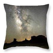 Monumental Sky Throw Pillow