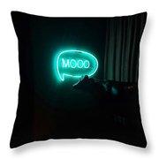 Moo Night Throw Pillow