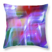 Moods Abstract Square Throw Pillow