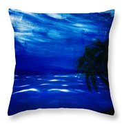Moods Of The Sea Romantic Throw Pillow