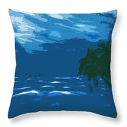 Moods Of The Sea Surreal Throw Pillow