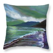 Moods Of Tioman 3 Throw Pillow