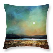 Moody Light Throw Pillow