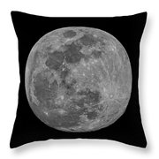Moon 98 Percent Throw Pillow