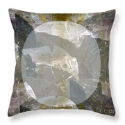 Moon Art On Stone Digital Graphics By Navin Joshi By Print Posters Greeting Cards Pillows Duvet Cove Throw Pillow by Navin Joshi