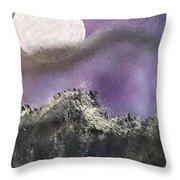 Moon Captured Throw Pillow