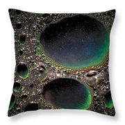 Moon Cores Throw Pillow
