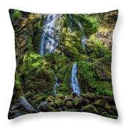 Moon Falls, No. 2 Throw Pillow
