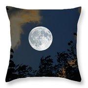 Moon Glo Throw Pillow