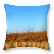 Moon In The Morning Throw Pillow