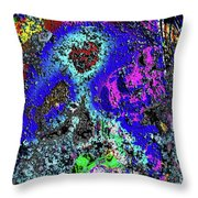 Moon Of Another Planet Throw Pillow