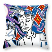 Moon Of Pomona Throw Pillow