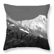 Moon Over Alaska Throw Pillow