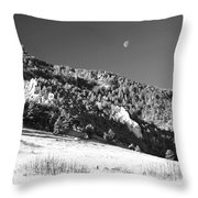 Moon Over Chatauqua 2 Throw Pillow