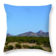 Moon Over My Mountains 2 Throw Pillow