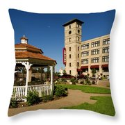 Moon Over The Amazon Throw Pillow