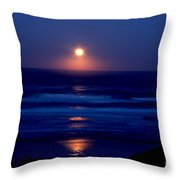 Moon Set Throw Pillow