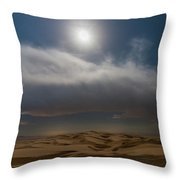 Moon Sparkle Throw Pillow