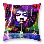 Moon, Turn The Tides, Gently Gently Away Throw Pillow