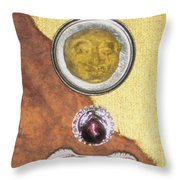 Moon Whisper Throw Pillow