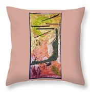 Moonbeams Throw Pillow