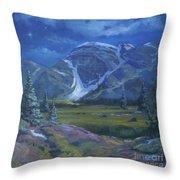 Moondance Meadows Throw Pillow
