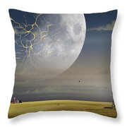 Moonfall Throw Pillow