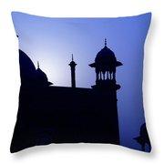 Moonlight And Minarets Throw Pillow