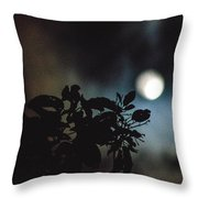 Moonlight And Tree 2 Throw Pillow
