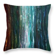 Moonlight Blues  Throw Pillow