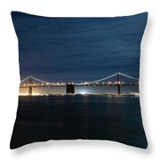 Shimmering In The Moonlight Throw Pillow