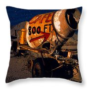 Moonlight Cafe Throw Pillow