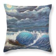 Moonlight Fantasy Throw Pillow