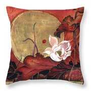 Moonlight Lullaby Throw Pillow