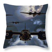 Moonlight Marauders Throw Pillow
