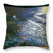 Moonlight On The Mississippi Throw Pillow