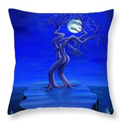 Moonlight Passion Throw Pillow